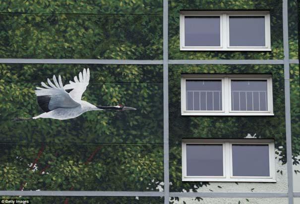 Τεράστια και εντυπωσιακή τοιχογραφία σε μια ολόκληρη γειτονιά (5)