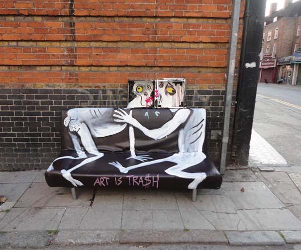 Τέχνη από... σκουπίδια (2)