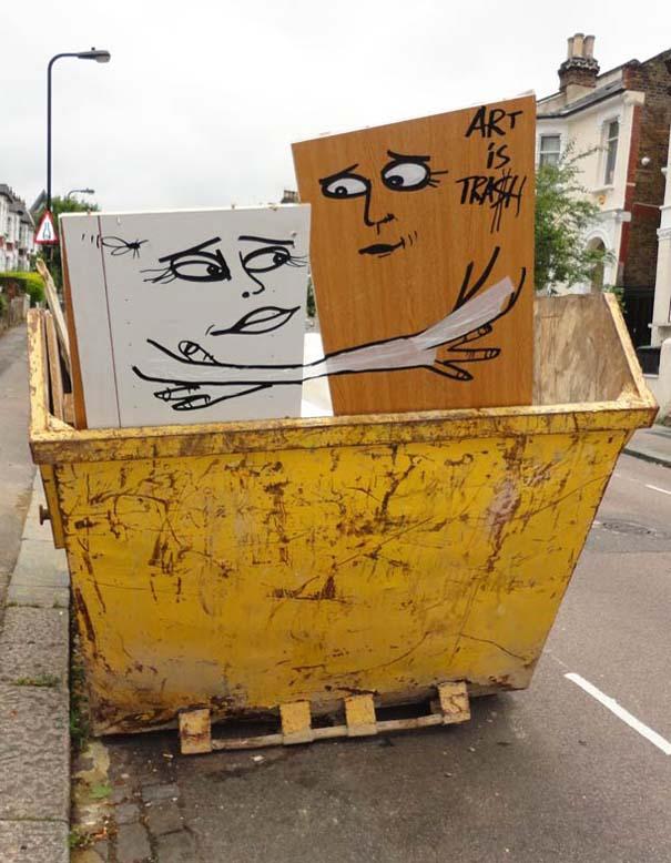 Τέχνη από... σκουπίδια (12)