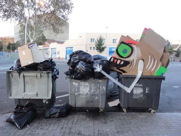 Τέχνη από... σκουπίδια (21)