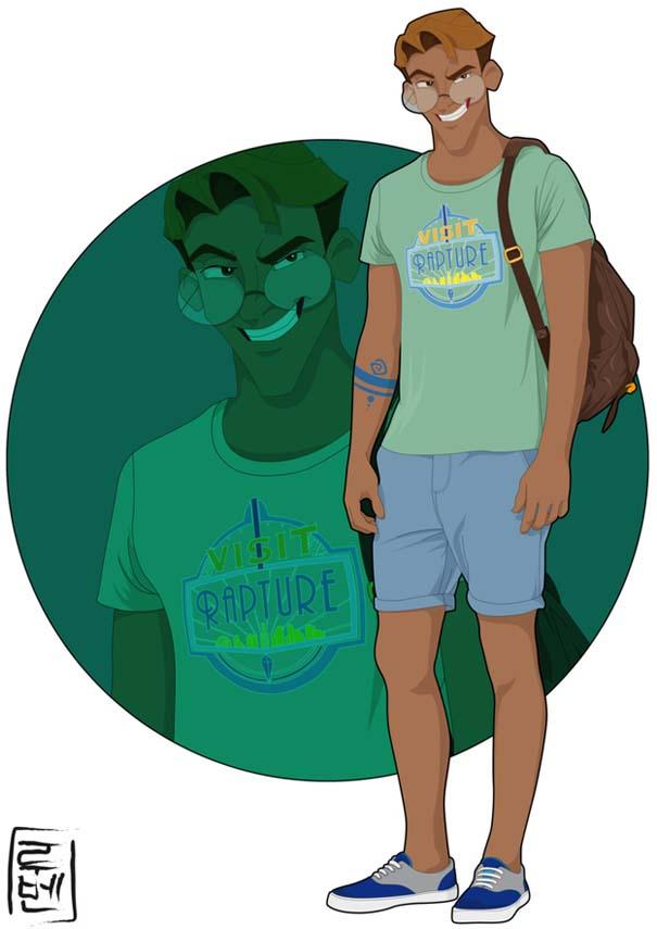 Τι θα φορούσαν οι χαρακτήρες καρτούν αν ζούσαν στο σήμερα (2)