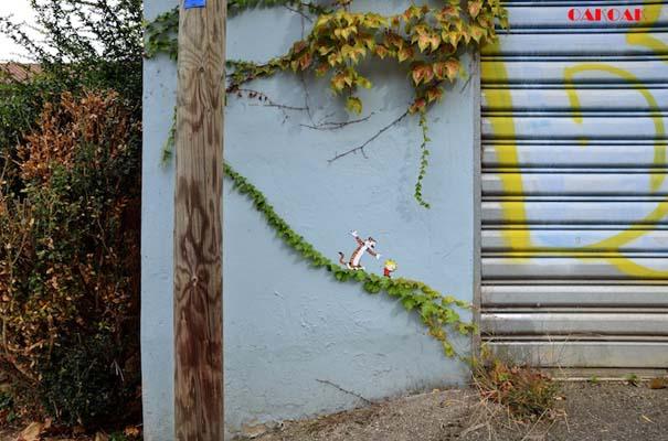 Χιουμοριστική τέχνη του δρόμου από τον OaKoAk (1)