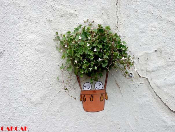 Χιουμοριστική τέχνη του δρόμου από τον OaKoAk (6)