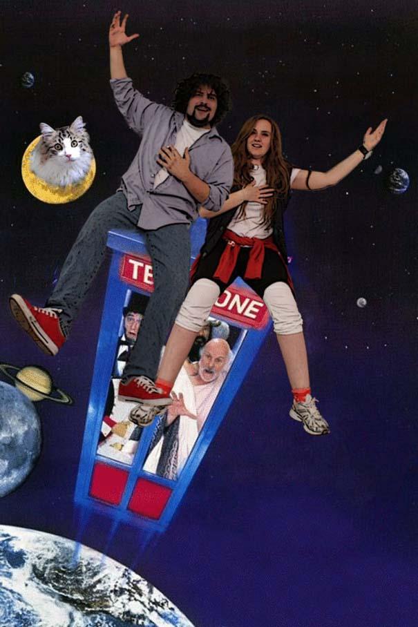 Ζευγάρι έφτιαξε φωτογραφικό άλμπουμ εμπνευσμένο από διάσημες ταινίες (2)