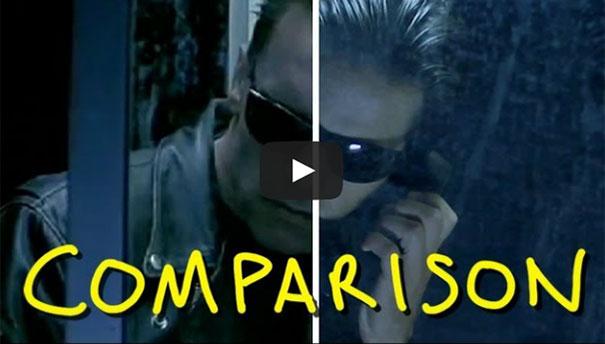 Αναπαράσταση σκηνής του Terminator 2 με ελάχιστο budget