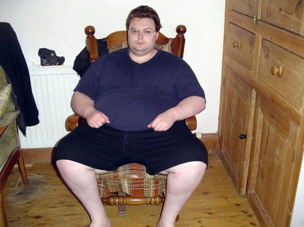 Άνδρας 210 κιλών έγινε κούκλος σε 18 μήνες (1)