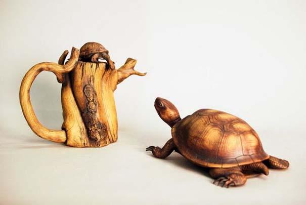 Απίστευτα γλυπτά από ξύλο (3)