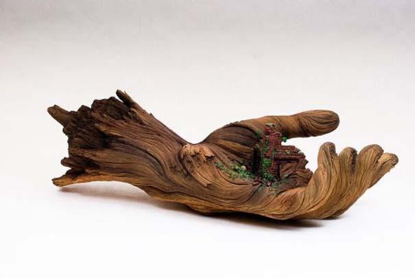 Απίστευτα γλυπτά από ξύλο (6)