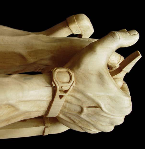 Απίστευτα γλυπτά από ξύλο (19)