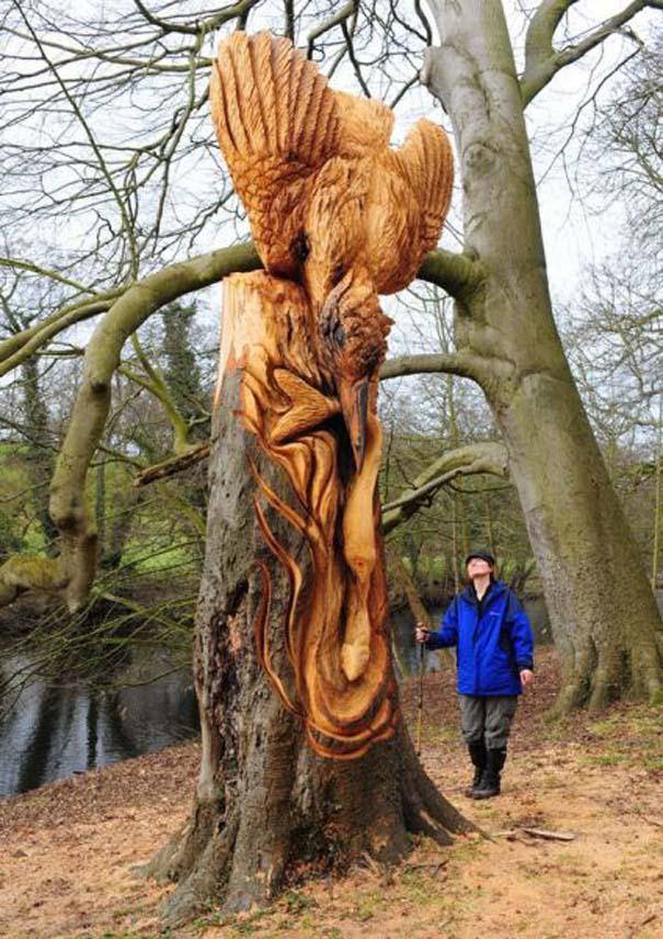 Απίστευτα γλυπτά από ξύλο (24)