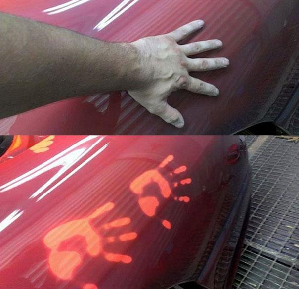 Το αυτοκίνητο που αλλάζει χρώμα ανάλογα με την θερμοκρασία