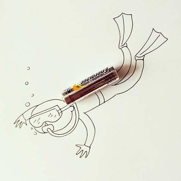 Δίνοντας ζωή σε καθημερινά αντικείμενα με ένα στυλό (19)