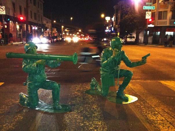 Ένα ζευγάρι... πράσινα στρατιωτάκια (9)
