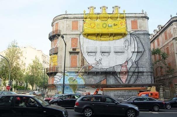 diaforetiko.gr : entypwsiaka graffiti 78 Εντυπωσιακά graffiti στους δρόμους του κόσμου!