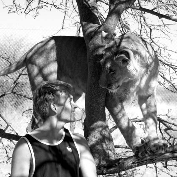 Ο φωτογράφος που έζησε με τα λιοντάρια στην Αφρική (1)