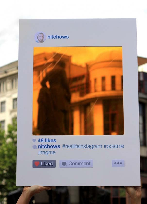 Instagram στην πραγματική ζωή (2)