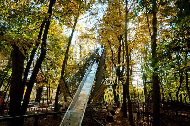 Ιταλός κατασκεύαζε επί 40 χρόνια ολόκληρο λούνα παρκ μόνος του (1)