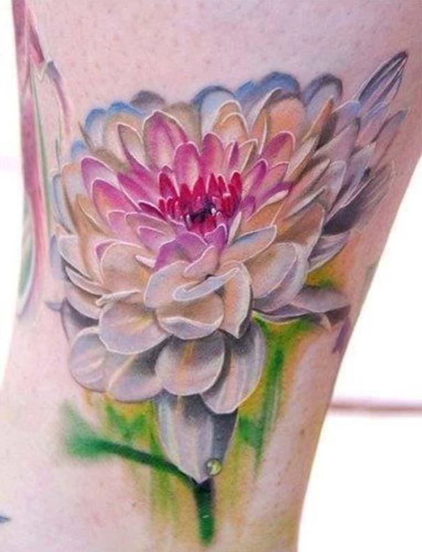 Καλλιτεχνικά τατουάζ που μοιάζουν με υδατογραφίες (29)