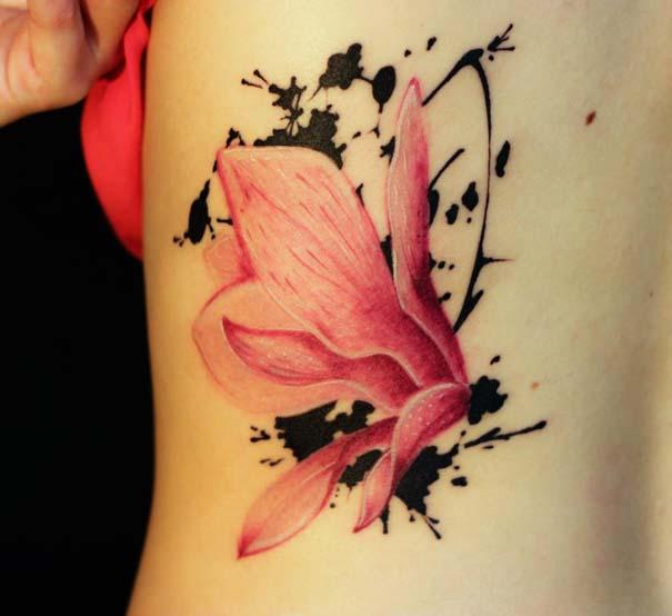 Καλλιτεχνικά τατουάζ που μοιάζουν με υδατογραφίες (31)