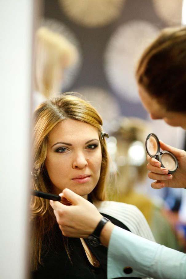 Μια συνηθισμένη κοπέλα πριν και μετά το μακιγιάζ (2)