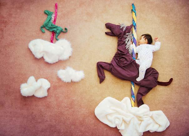 Μητέρα μετατρέπει τον ύπνο του μωρού της σε φανταστικές περιπέτειες (23)