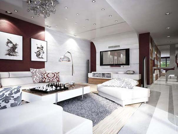 Μοντέρνο διαμέρισμα στη Σλοβακία (1)