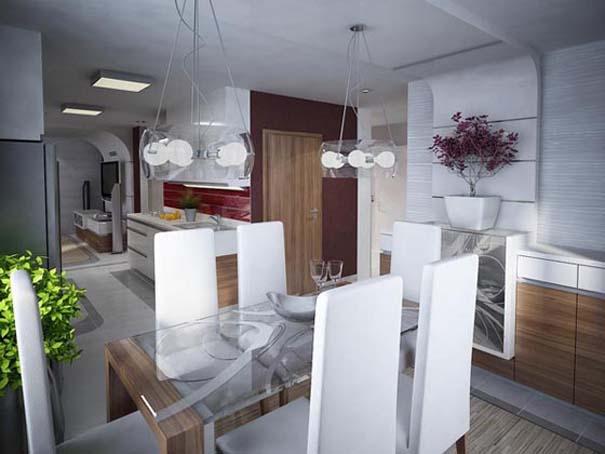 Μοντέρνο διαμέρισμα στη Σλοβακία (8)