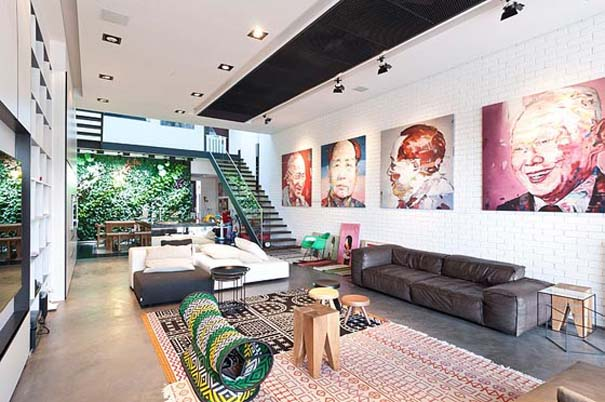 Μοντέρνο και γεμάτο φως σπίτι στη Σιγκαπούρη (1)