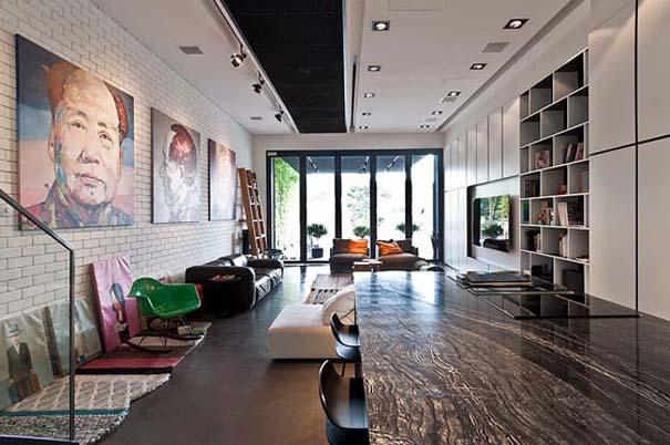 Μοντέρνο και γεμάτο φως σπίτι στη Σιγκαπούρη (3)