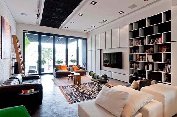 Μοντέρνο και γεμάτο φως σπίτι στη Σιγκαπούρη (5)