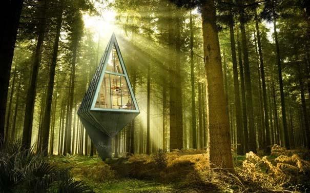 Μοντέρνα οικολογικά σπίτια στην καρδιά του δάσους (1)