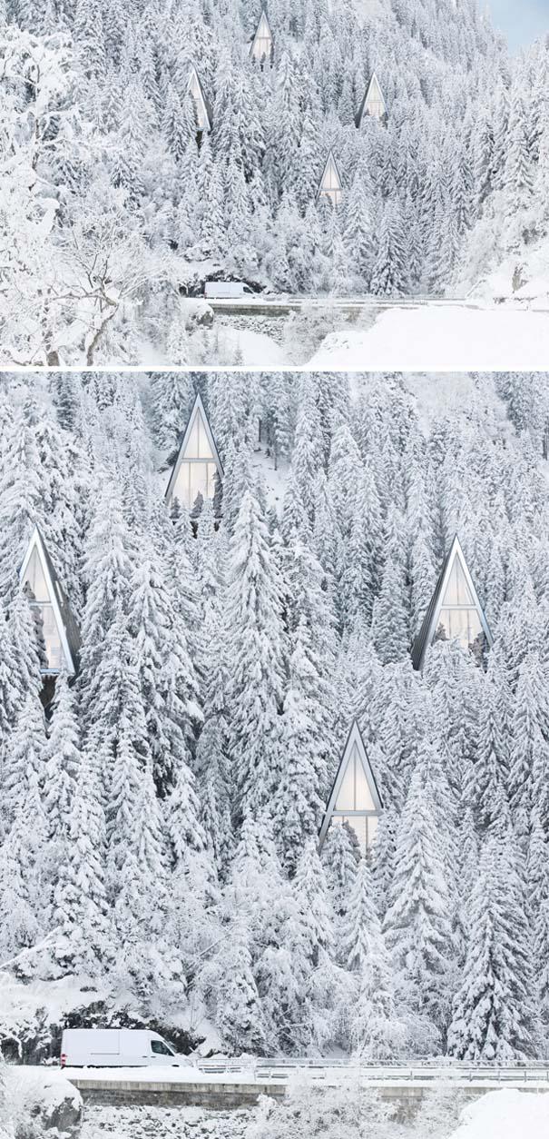 Μοντέρνα οικολογικά σπίτια στην καρδιά του δάσους (3)
