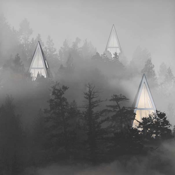 Μοντέρνα οικολογικά σπίτια στην καρδιά του δάσους (6)