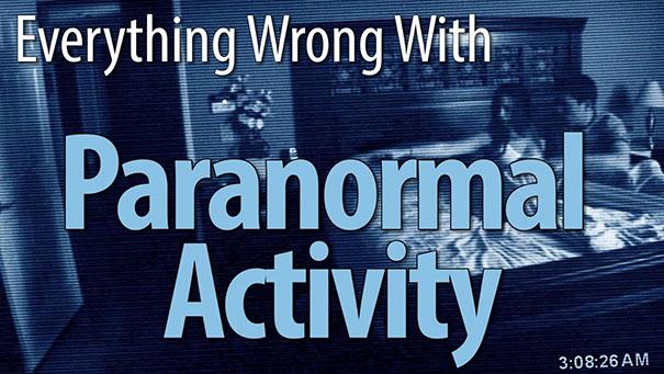 Όλα τα λάθη του «Paranormal Activity» σε 7 λεπτά