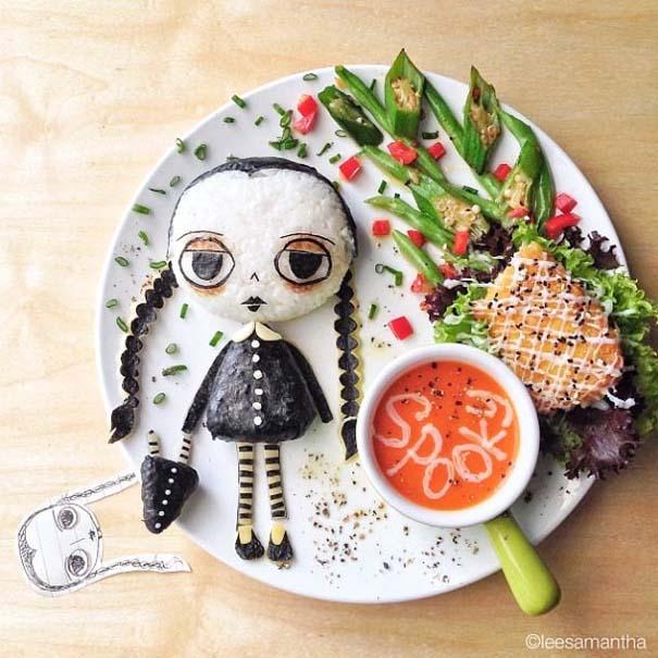 Όταν η Samantha Lee παίζει με το φαγητό της (8)