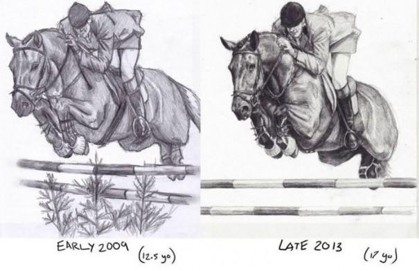 Η εξέλιξη ενός έφηβου ζωγράφου | Φωτογραφία της ημέρας