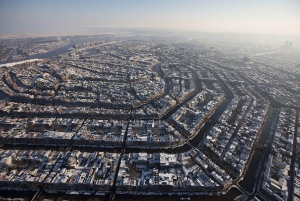 Το Amsterdam από ψηλά | Φωτογραφία της ημέρας