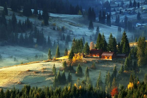 Φάρμα - καταφύγιο στα Καρπάθια Όρη   Φωτογραφία της ημέρας