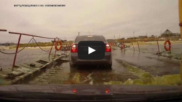 Πλωτή γέφυρα στη Ρωσία