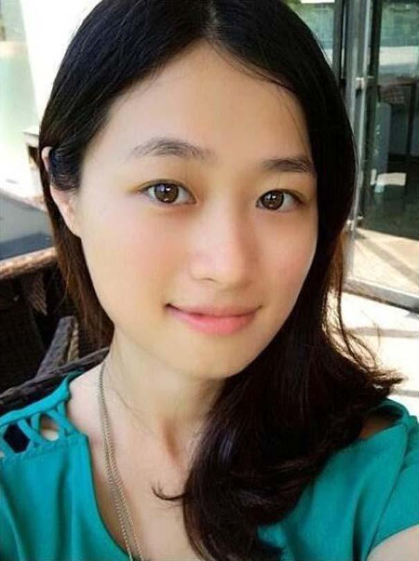 Το πραγματικό πρόσωπο μιας γυναίκας πίσω από το μακιγιάζ (1)