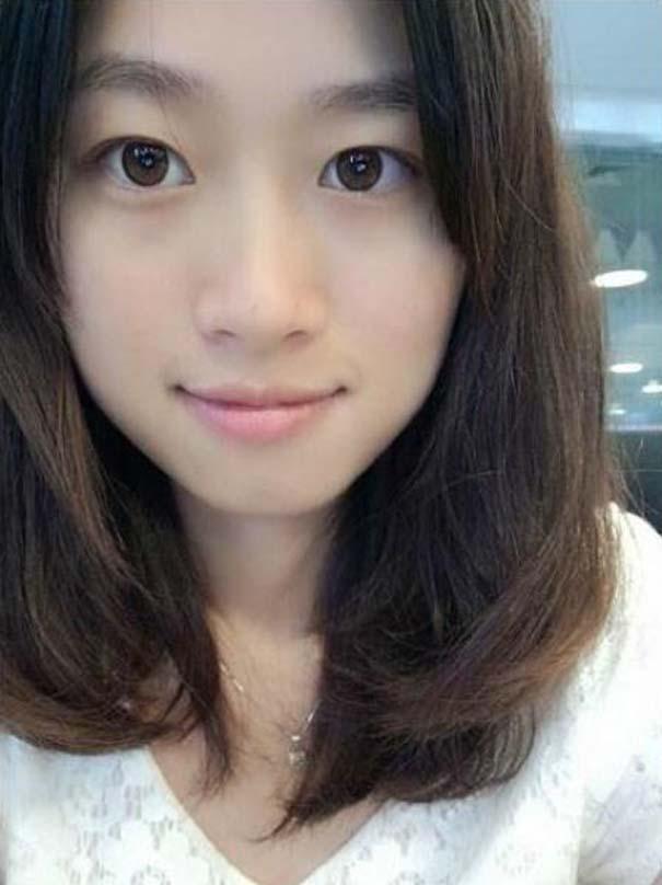 Το πραγματικό πρόσωπο μιας γυναίκας πίσω από το μακιγιάζ (2)