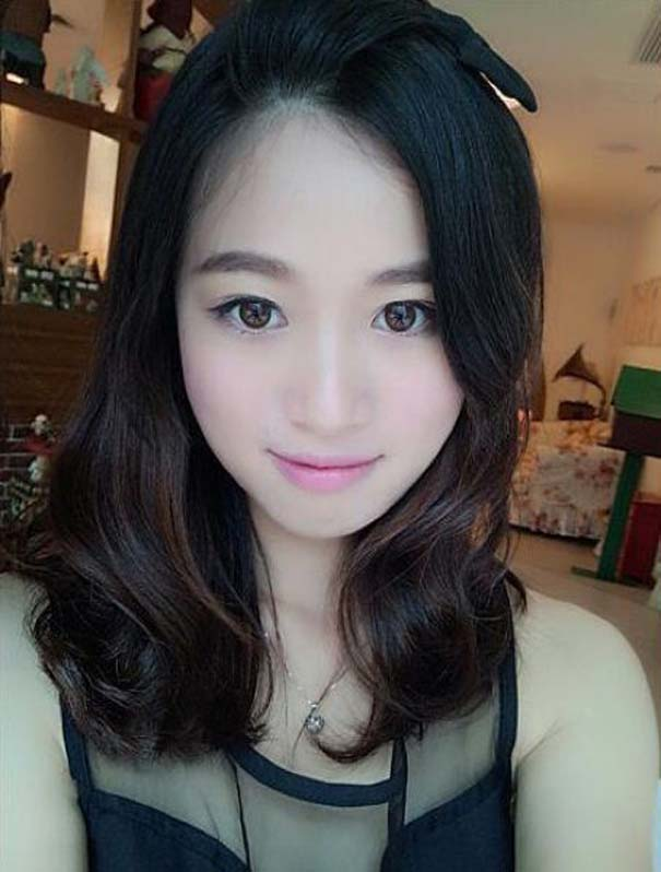 Το πραγματικό πρόσωπο μιας γυναίκας πίσω από το μακιγιάζ (4)
