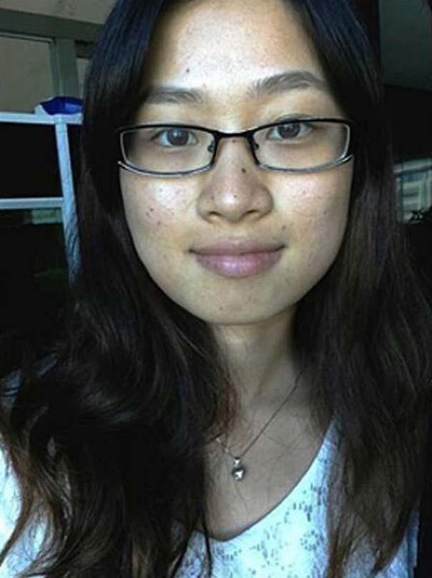 Το πραγματικό πρόσωπο μιας γυναίκας πίσω από το μακιγιάζ (6)