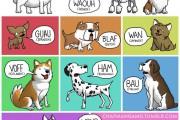 Πως ακούγονται τα ζώα σε διαφορετικές γλώσσες (1)