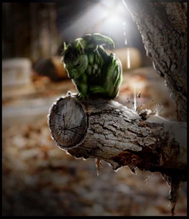 Σκίουρος γίνεται πρωταγωνιστής σε σειρά φωτογραφιών με Photoshop (5)