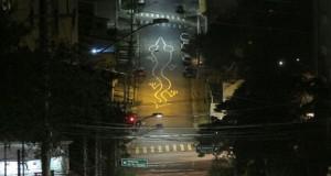 Τέχνη του δρόμου που μπορείς να δεις μόνο από ψηλά