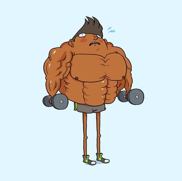 Οι τύποι που θα συναντήσεις στο γυμναστήριο (7)