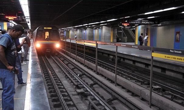 Ώρα αιχμής στο Μετρό της Βενεζουέλας
