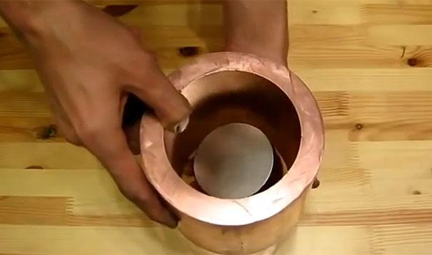 Χαλκοσωλήνας vs μαγνήτη