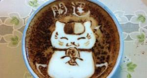 Υπέροχη τέχνη σε καφέ #10